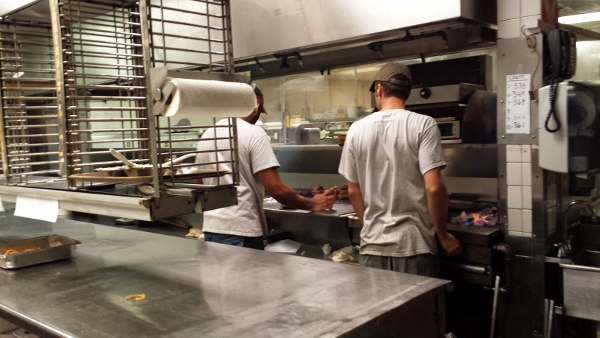 steak house kitchen review of berns steakhouse in tampa florida
