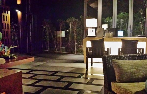 Conrad Koh Samui Late Night Lobby Check In