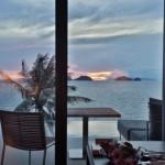 Conrad Koh Samui Sunset from Villa 110 Living Room