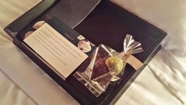 Conrad Koh Samui Turn down chocolates