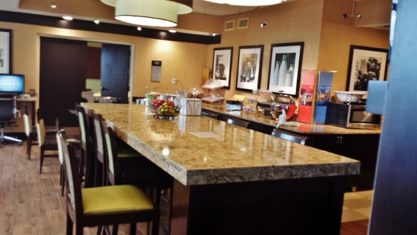 Hampton Inn Staunton Virginia Breakfast area