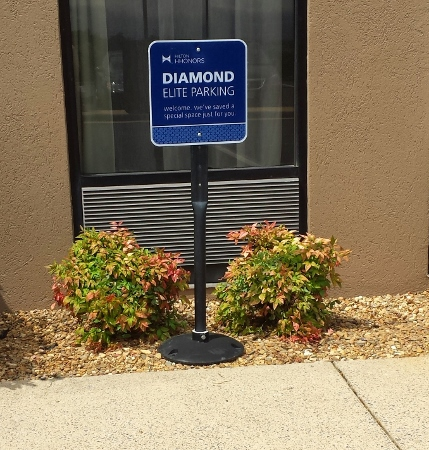 Hampton Inn Staunton Virginia Diamond Benefit Parking