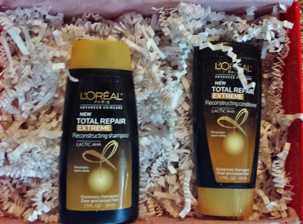 October 2014 Sample Society L'oreal paris shampoo