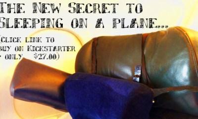 kickstarter perfect travel pillow