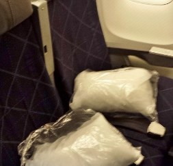 American Airlines Economy JFK-MXP seat 27B