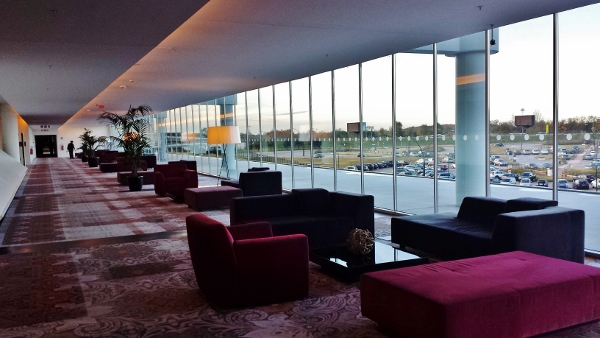 MXP Sheraton Malpensa Seating area
