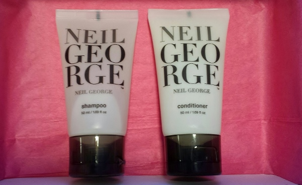 January 2015 Birchbox Neil George Shampoo Conditioner