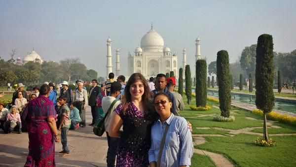 Taj Mahal Agra Keri Vijaya
