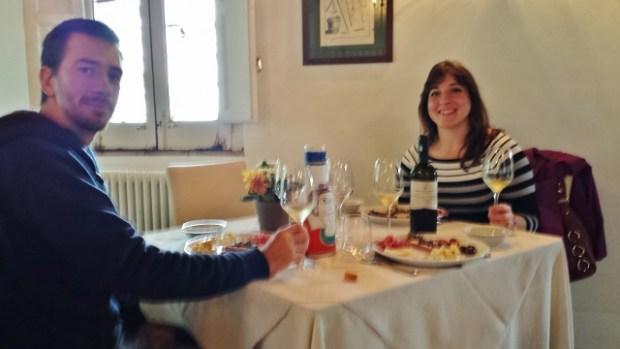 Sicily Wine Tour Barone di Villagrande winemaker Marco winetasting