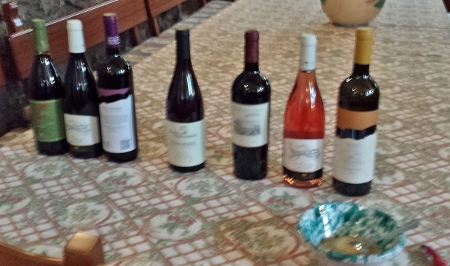 Sicily Wine Tour Tornatore wine tasting lunch options