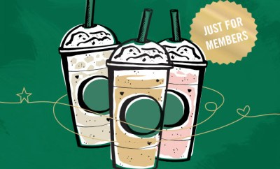 Starbucks Monday Happy Hour Frappacino
