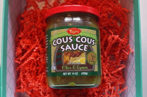 Try the World Review Marrakesh Box cous cous sauce