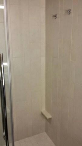 Grand Hyatt Denver Corner Room With A View Shower Shelf