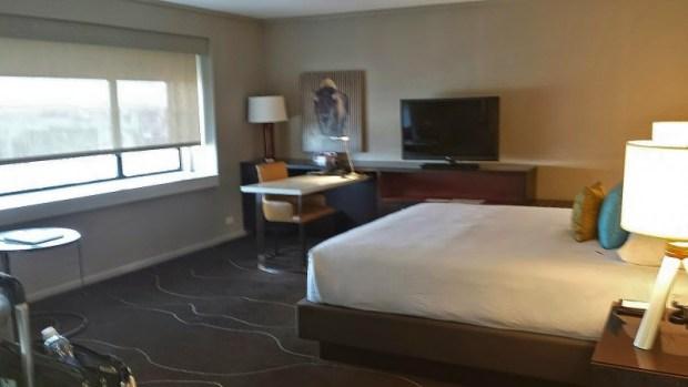 Grand Hyatt Denver Corner Room with a View king