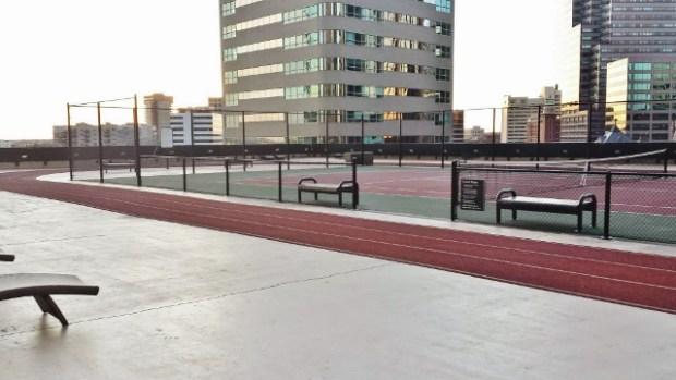 Grand Hyatt Denver Fitness Center & Pool Skycourt running track