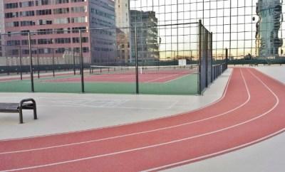 Grand Hyatt Denver Fitness Center & Pool Tennis Court