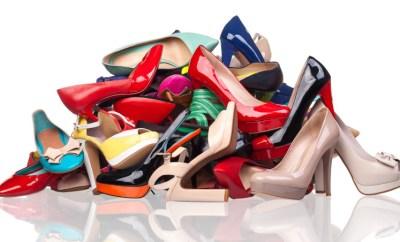 pile of summer heels
