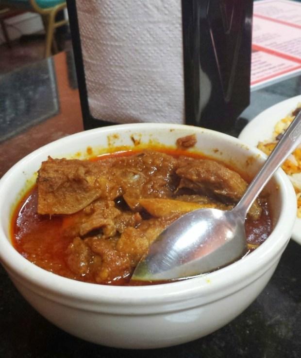 Gharer Khabar Arlington VA goat curry