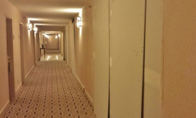 Hotel Remodel hallway