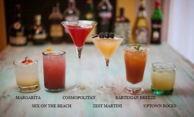 bartesian kickstarter cocktail options