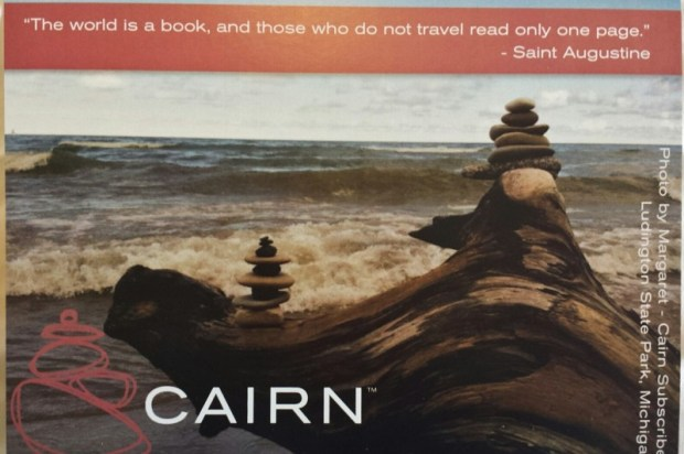 Cairn box review travel book quote