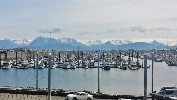 Homer Spit Alaska Docks