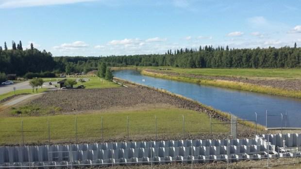 moose creek dam area of chena park