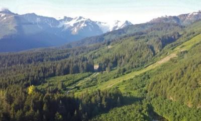 Alyeska Tram secenic view Alaska