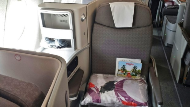 Iberia business class review jfk-mad