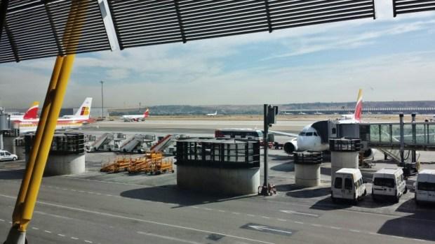 Madrid Airport Iberia MAD-FLR