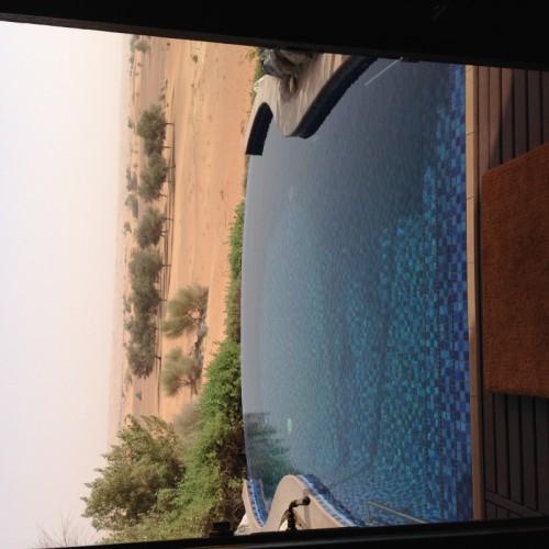 Al Maha Resort Dubai villa horizon pool