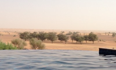 Al Maha Resort Dubai villa views
