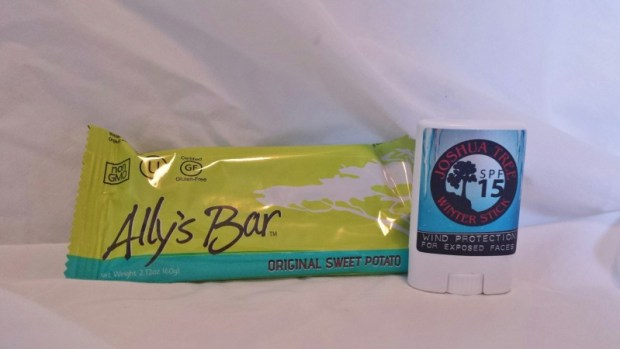 Cairn box review October Allys Bar sweet potato