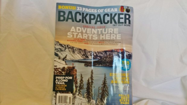 Cairn box review October Backpacker Magazine fall winter gear guide
