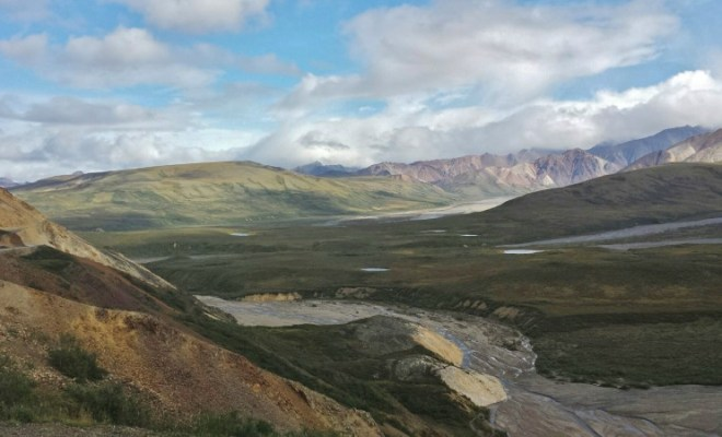 Denali National Park Katishna Experience Bus Tour Scenery Painted Mountains