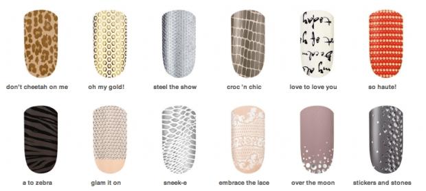Essie-Sleek-Sticks nail wraps