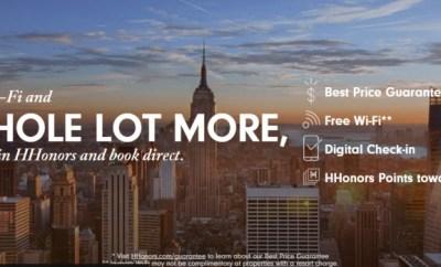 Hilton Immediate Benefits Book Direct Promo