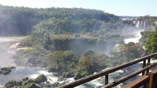 Iguazu Falls San Martin Island