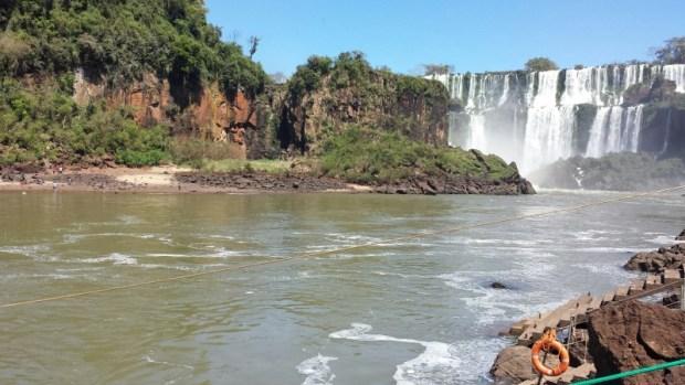 San Martin Island Iguazu Falls Trail