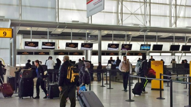 jFK Terminal 4 Etihad Checkin