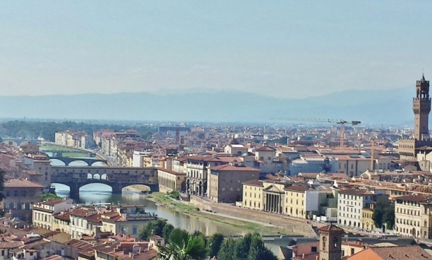things to do in florence view from Piazzale Michelangelo
