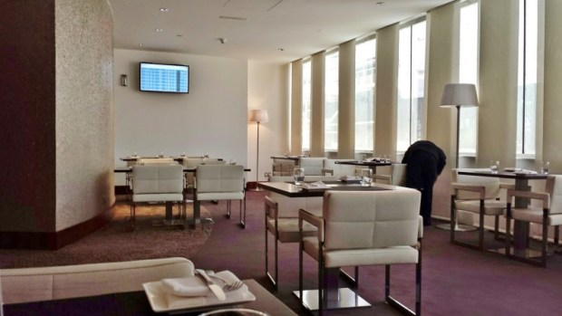 Etihad Abu Dhabi Lounge Business & First Class Terminal 1 breakfast room