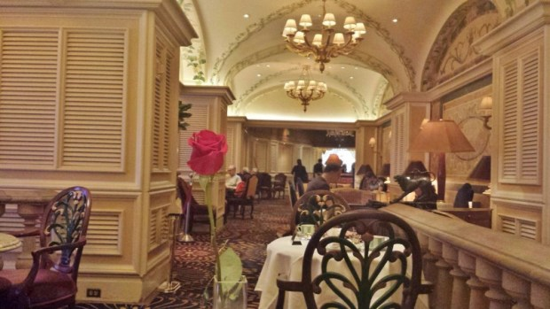 High Tea Las Vegas Bellagio Petrossian Bar back section