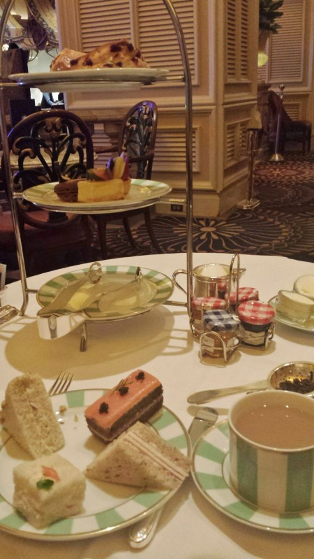 High Tea Las Vegas Bellagio Petrossian Food Selection