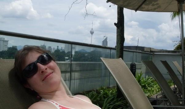 Le Meridien Kuala Lumpur pool Keri
