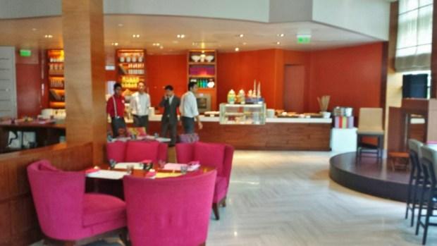 Park Hyatt Chennai hotels Flying Elephant lunch dessert