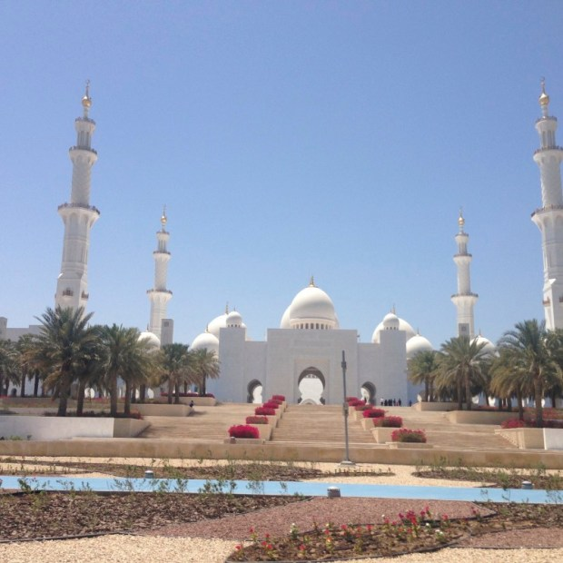 Sheikh Zayed Mosque approach