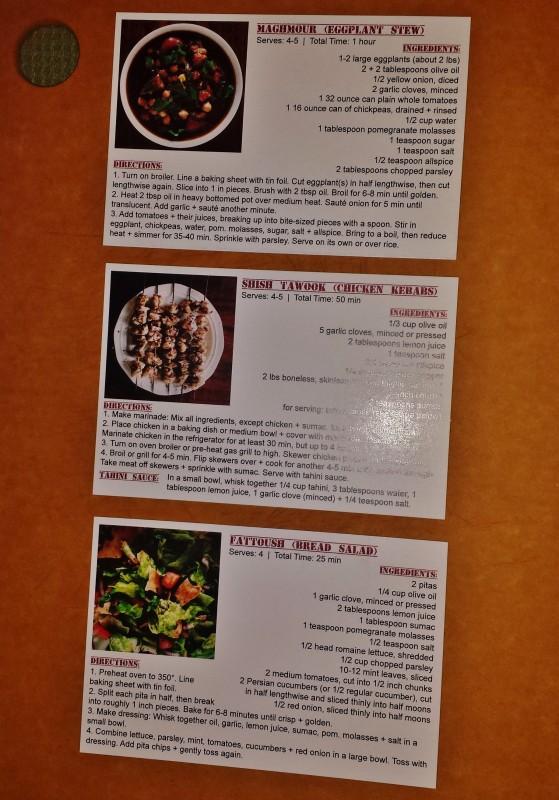 Spiced Pantry Review Lebanon Box recipes