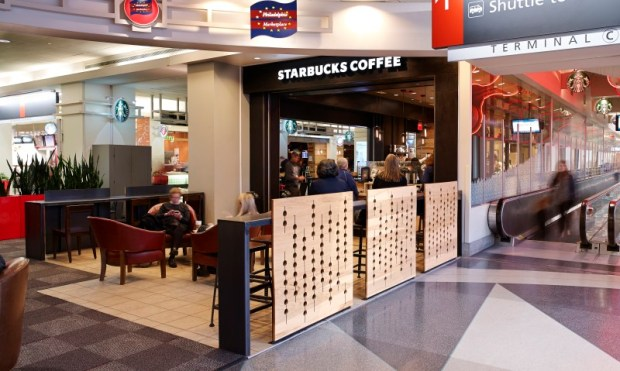 Starbucks Airport Location-PHL-Airport Terminal A