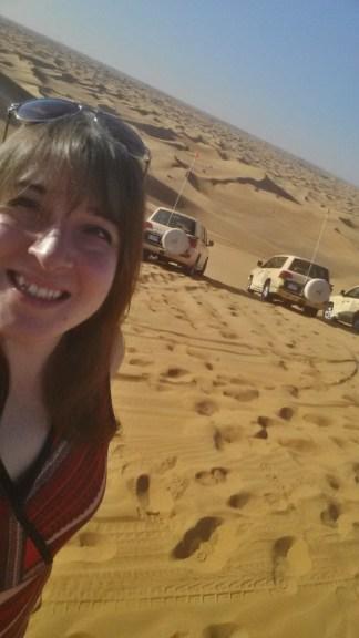 Al maha desert resort dune bashing Keri